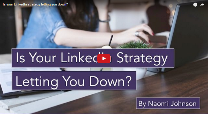Webinar: Is Your Strategy on LinkedIn Letting You Down?